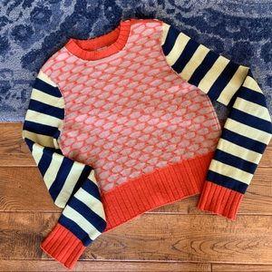 Anthro HWR Merino Wool Sweater